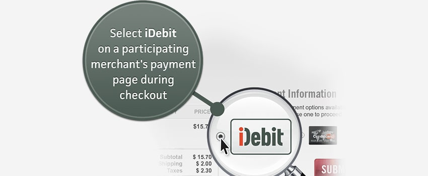 Withdrawing Funds via iDebit