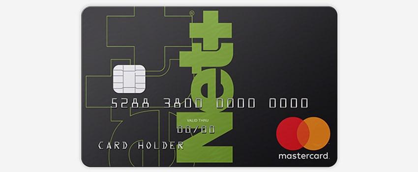 Net+ Prepaid Mastercard