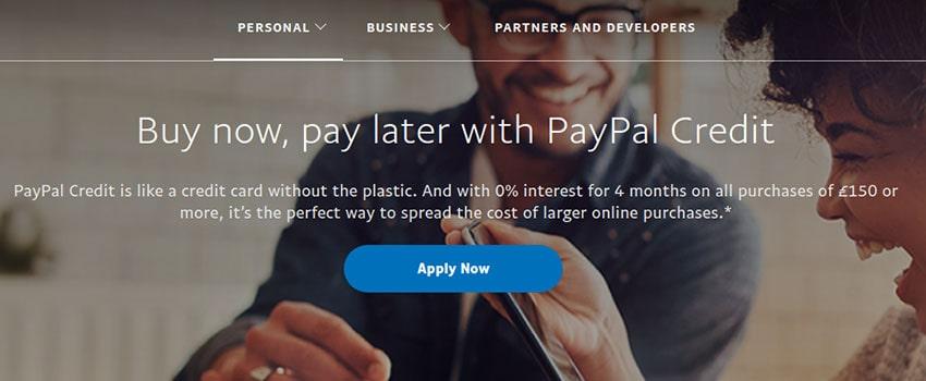 PayPal Credit - Digital Credit Line