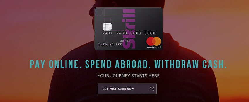 Applying for a Skrill Prepaid Mastercard