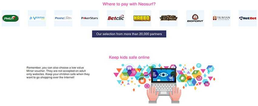 Neosurf and Online Casinos