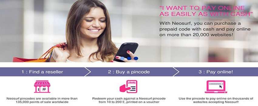 Neosurf on Mobile