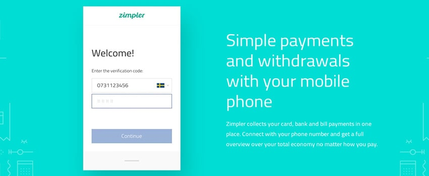 Zimpler Mobile deposit options